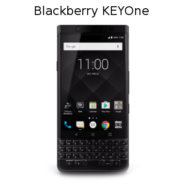 smartphone BlackBerry KEYOne
