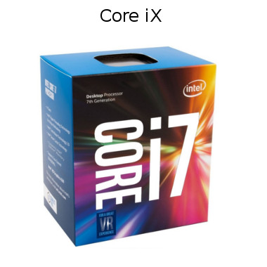 intel core iX