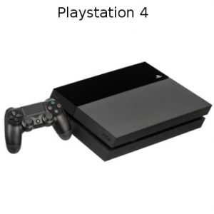 PlayStation 4 with console