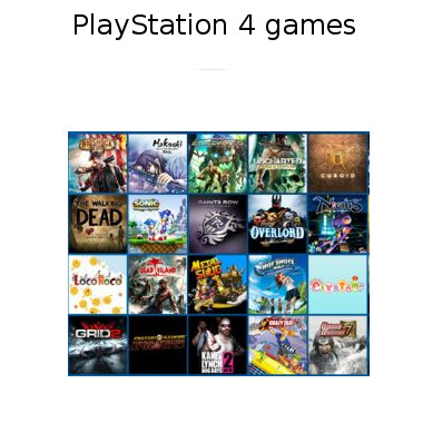 the games of playstation 4